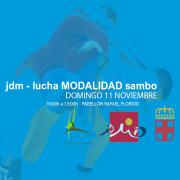 JDM - LUCHA SAMBO, DOMINGO 11 DE NOVIEMBRE