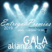 GALA DE PREMIOS 2019